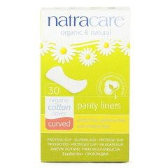 Pesukaitsmed Natracare Curved 30 tk