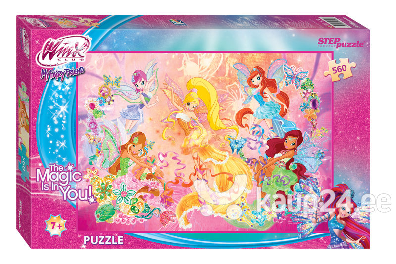 Pusle Step Puzzle 560 Winx