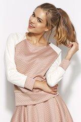 Naiste pluus Alore AL13, roosa/valge