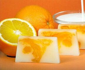 Käsitööna valminud seep Apelsinid ja jogurt 100 g