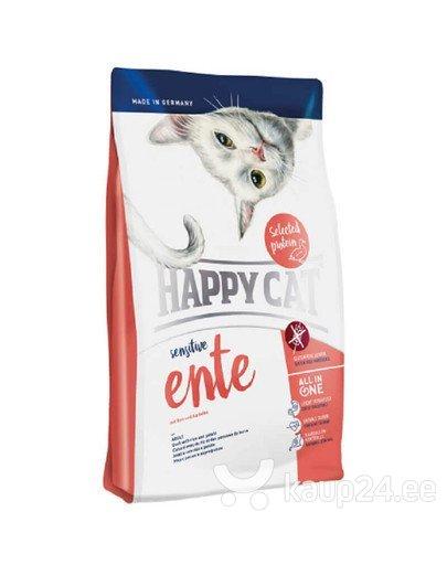Kuivtoit kassidele Happy Cat Sensitive pardilihaga, 4 kg