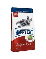 Kuivtoit kassidele Happy Cat Adult veiselihaga, 4 kg​