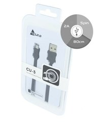 Kaabel Acura CU-5 Premium Micro USB Data Cable 1.5 m Black