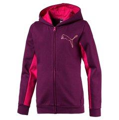 Puma куртка Style FZ Hoody, Dark Purple цена и информация | Одежда для девочек | kaup24.ee