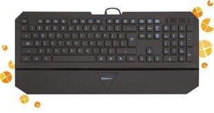 Juhtmega klaviatuur Defender Oscar SM-660L Pro RU, must, 4-astmeline taustvalgus