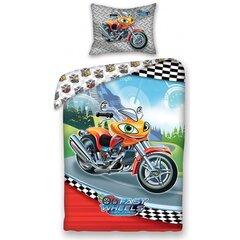 Laste voodipesukomplekt 2-osaline, Mootorratas