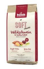 Bosch SOFT MAXI Wild Boar & Sweetpotato, беззерновой (один белок) 12,5 кг