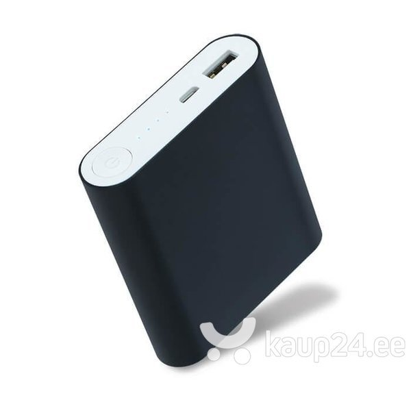 Akupank Setty Power Bank 8800mAh 5V 1,5 A + Micro USB kaabel, must