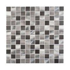 Dekoratiivsed seinaplaadid - mosaiik Cube Grey 30 x 30 cm Artens цена и информация | Плитка для стен | kaup24.ee