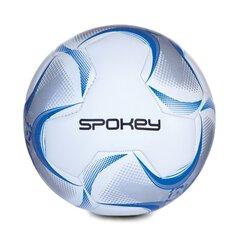 Jalgpall Spokey Razor, valge/sinine/hõbedane