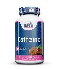 Haya Labs Caffeine 200mg 100caps hind ja info | Ergutid | kaup24.ee