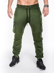 Meeste spordipüksid Ombre P462, roheline