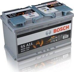 Aku Bosch S5A11 AGM 80 AH 800A