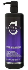 Volüümi andev šampoon Tigi Catwalk Your Highness Elevating 750 ml