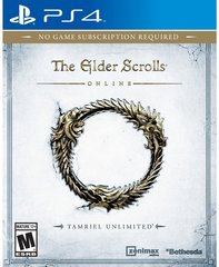 Mäng The Elder Scrolls Online: Tamriel Unlimited, PS4