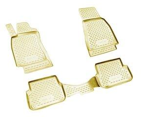 Kummimatid 3D AUDI A6 2004-2/2005,3/2006-2011, 4 pcs. /L03006B /beige hind ja info | Kummimatid 3D AUDI A6 2004-2/2005,3/2006-2011, 4 pcs. /L03006B /beige | kaup24.ee