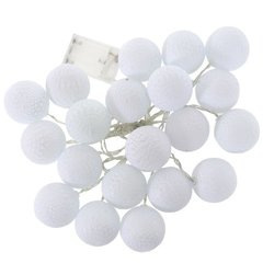 LED valgustid Cotton Balls, 20 LED, valge