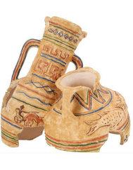Dekoratsioon Zolux hieroglüüfidega amfoor