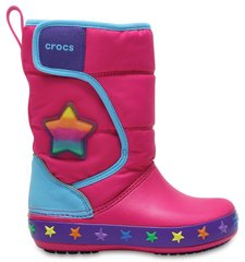 Tüdrukute saapad Crocs™ LodgePt Lights Star, Multi Stars