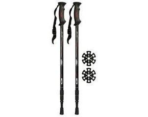 Палки для нордической ходьбы Abbey 21SV, серый