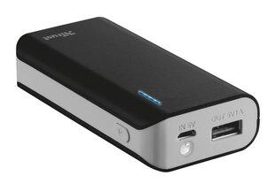 Akupank POWER BANK USB 5200MAH PORTAB./BLACK PRIMO 21635 TRUST цена и информация | Аккумуляторные зарядки | kaup24.ee