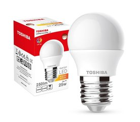 LED pirn TOSHIBA Golf 3W (25W) 2700K E27