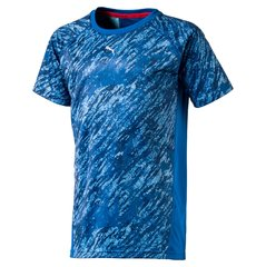 Puma футболка Gym Allover Tee, Lapis Blue
