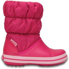 Tüdrukute talvesaapad Crocs™ Winter Puff Boot Kids, Candy Pink