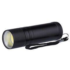Taskulamp EMOS metallist 3W COB LED, 3x AAA