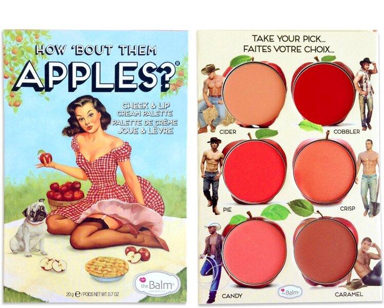 Huule- ja põsepuna palett TheBalm Cosmetics How Bout Them Apples? 20 g