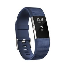 Nutivõru Fitbit Charge 2 Blue Silver - Small