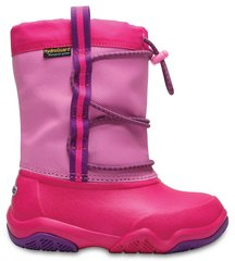 Сапоги Crocs™ Swiftwater Waterproof Boot, Party Pink / Candy Pink