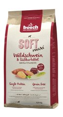 bosch SOFT MAXI Wild Boar & Sweetpotato сухой корм для собак 1 кг