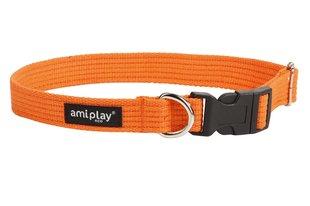 Puuvillane kaelarihm Amiplay, M, oranž