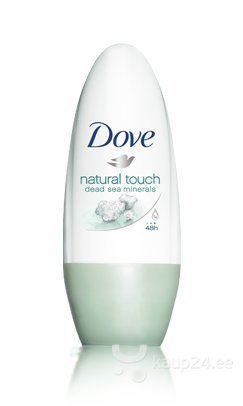 Rulldeodorant Dove Natural Touch 50 ml