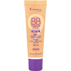 BB-kreem Rimmel London 9 in1 SPF15 Matte 30 ml