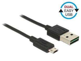 Kaabel Delock Micro USB AM-BM DUAL EASY-USB, 1m