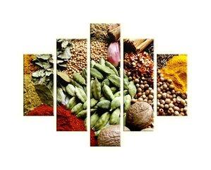 Viieosaline maal, toit hind ja info | Seinapildid | kaup24.ee