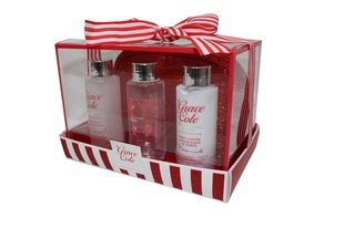 Komplekt Grace Cole Frosted Cherry & Vanilla, 100 ml + 100 ml + 100 ml