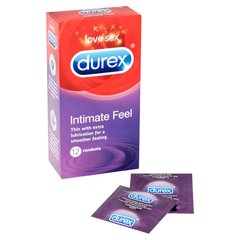 Kondoomid DUREX Intimate feel, 12 tk
