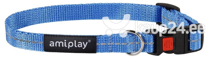 Kaelarihm lukuga Amiplay Reflective, M, sinine
