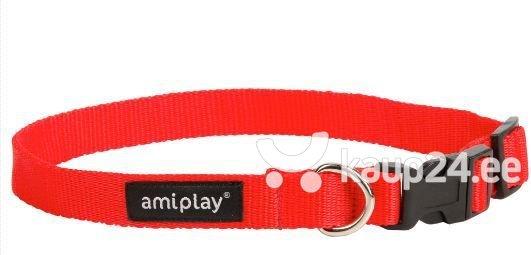 Reguleeritav kaelarihm Amiplay Basic, L, punane