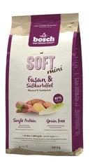 Kuivtoit koertele Bosch HPC Soft+ Pheasant teraviljavaba (üks valk) 1kg hind ja info | Kuivtoit koertele | kaup24.ee